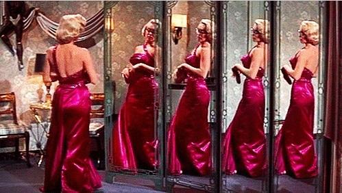 "Marilyn Monroe i ""How to Marry a Millionaire"" (1953). Foto via Pinterest."