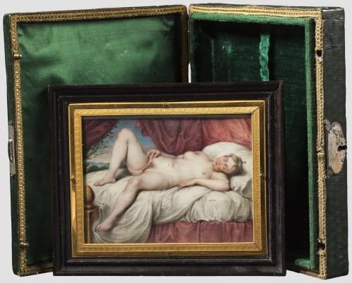 Erotiskt miniatyr, Otto von Griechenland. Foto: Hermann Historica.