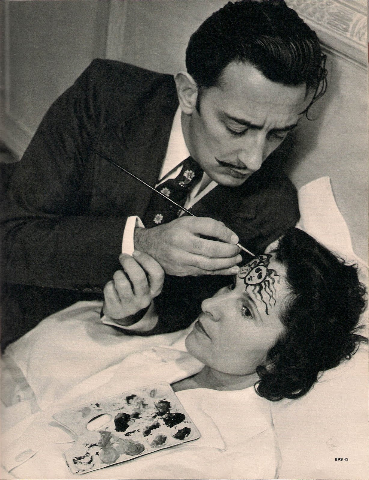 Salvador och Gala Dalí. Foto via Paris Review.