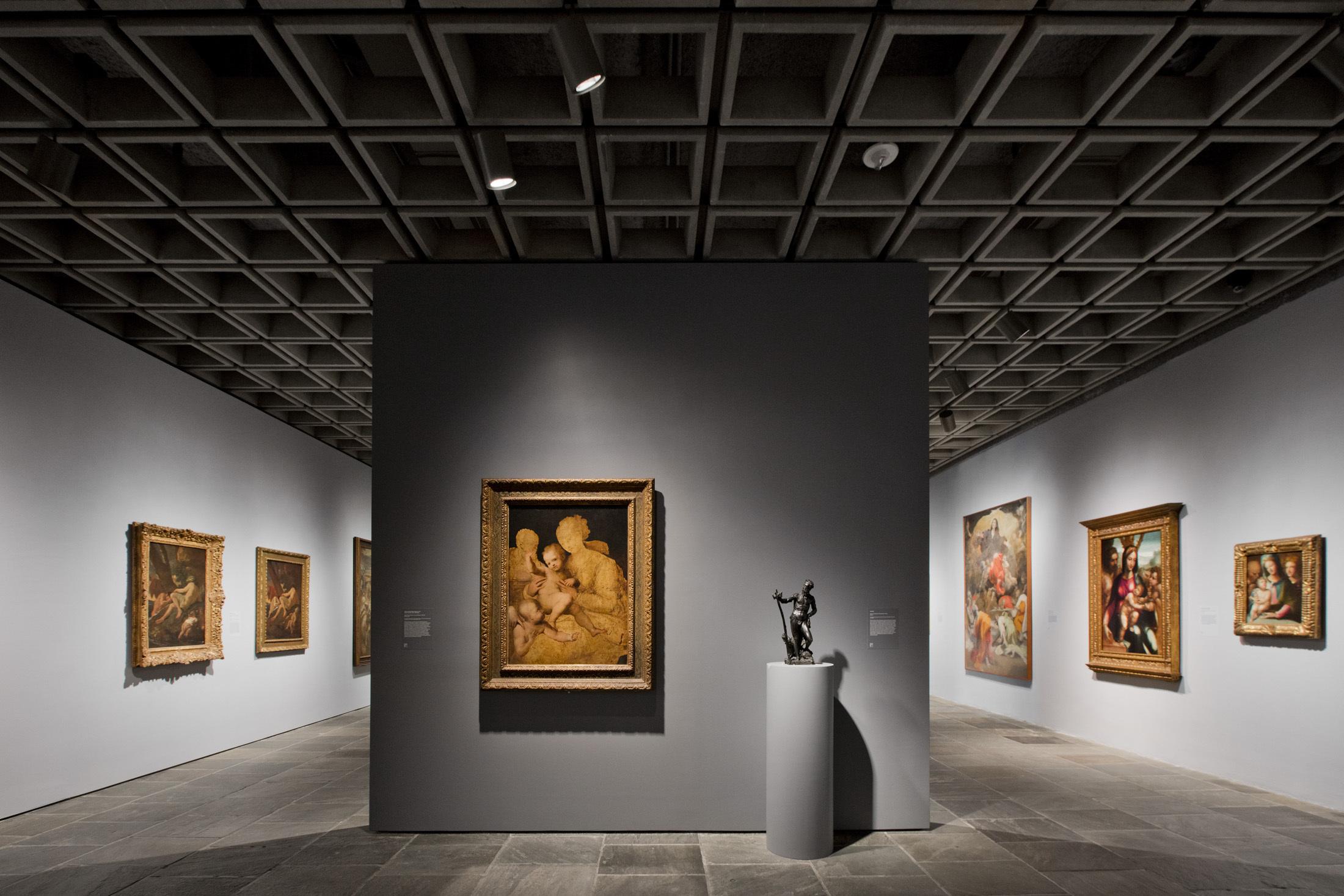 Installation de l'exposition 'Unfinished Thoughts' au Met Breuer Image via Bloomberg.com
