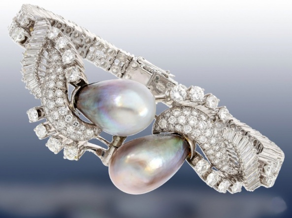 Unikates Armband mit seltenen Orientperlen