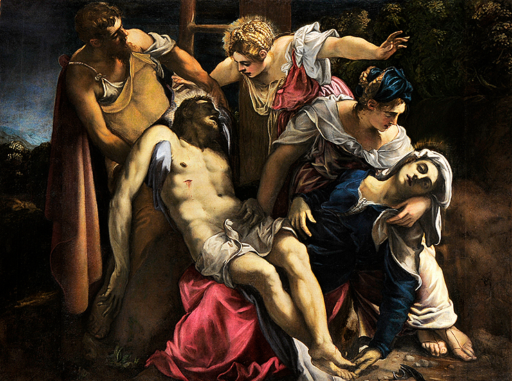 Jacopo Tintoretto, The Deposition of Christ, c. 1562, oil on canvas, Gallerie dell'Accademia, Venice