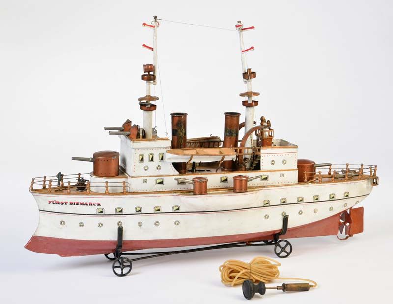 "MÄRKLIN - Kreuzer ""Fürst Bismarck"", um 1904"