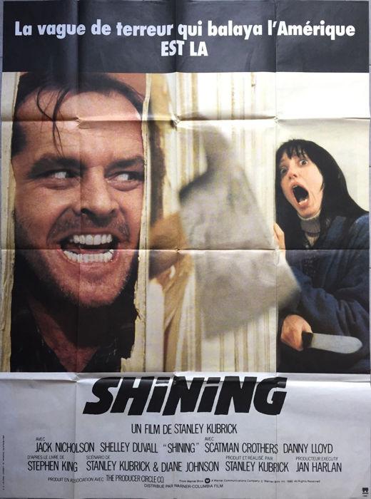 Shining (Stanley Kubrick). Película de Terror (1983)