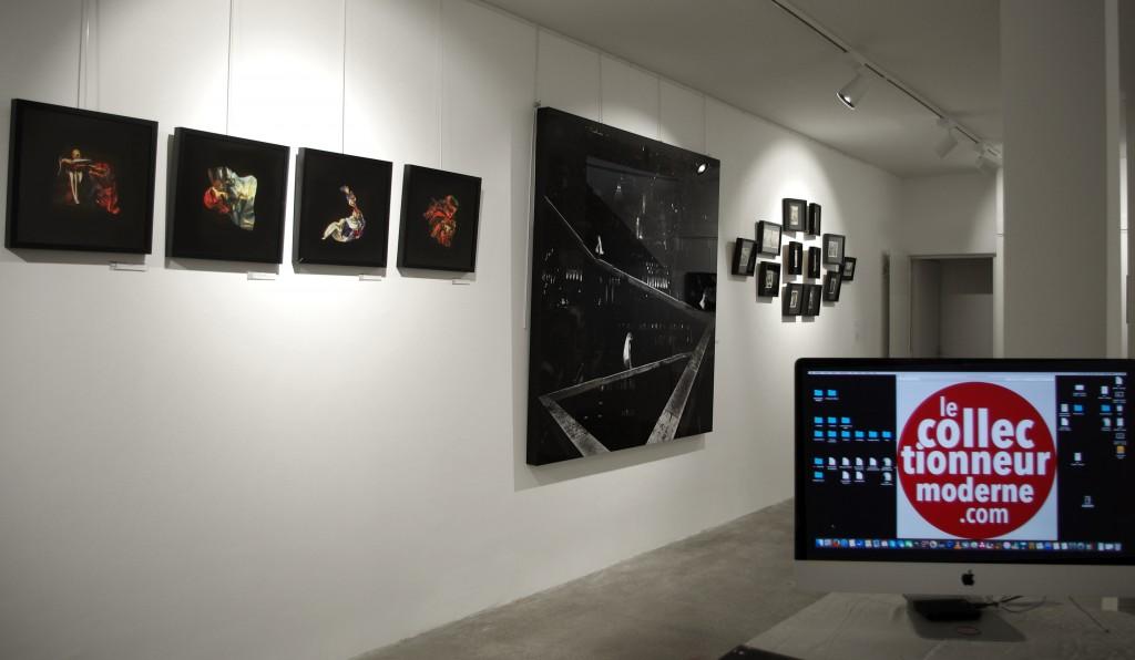 """Le lancement de l'exposition """"Mémoires Visuelles"""" a eu lieu en décembre dernier à l'Espace Thorigny dans le Marais"""