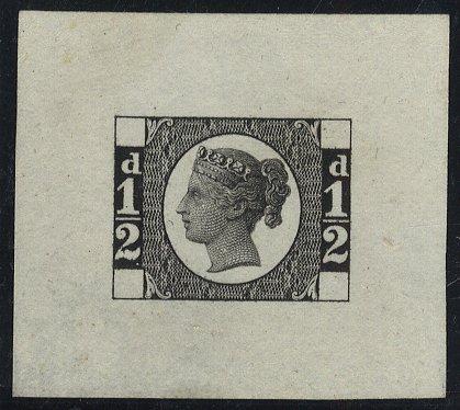 1870 1/2d Die Proof SGDP62b