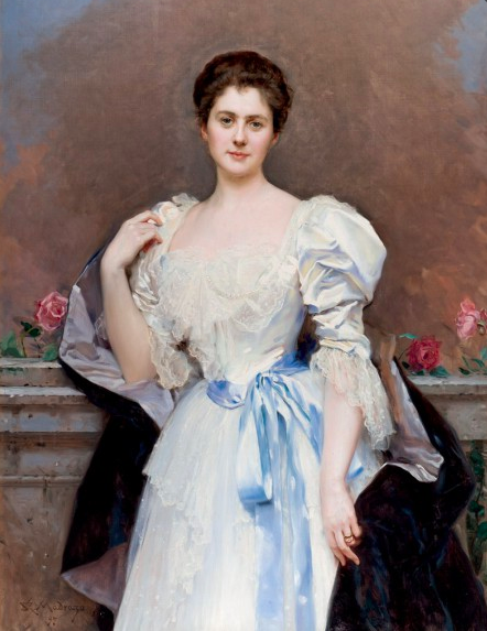 Raimundo de Madrazo, Portrait of Madame Gould