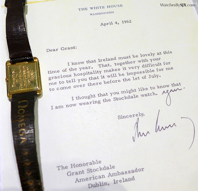 The watch John F. Kennedy wore as he was inaugurated as the 35th President of the United States in January 1961.