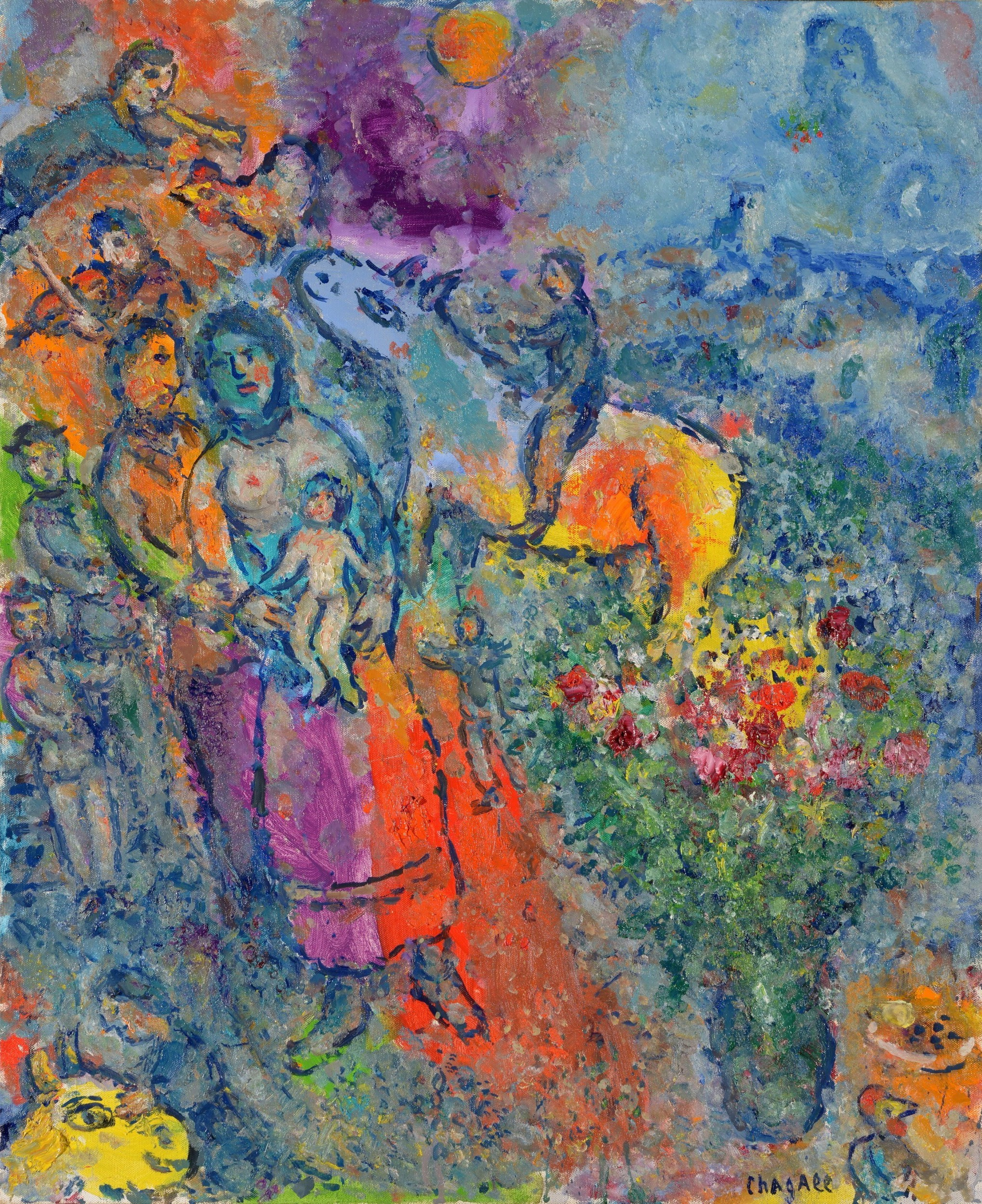chagall auction price