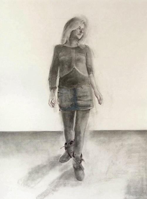 Självporträtt. Foto: Astrid van Arkel.
