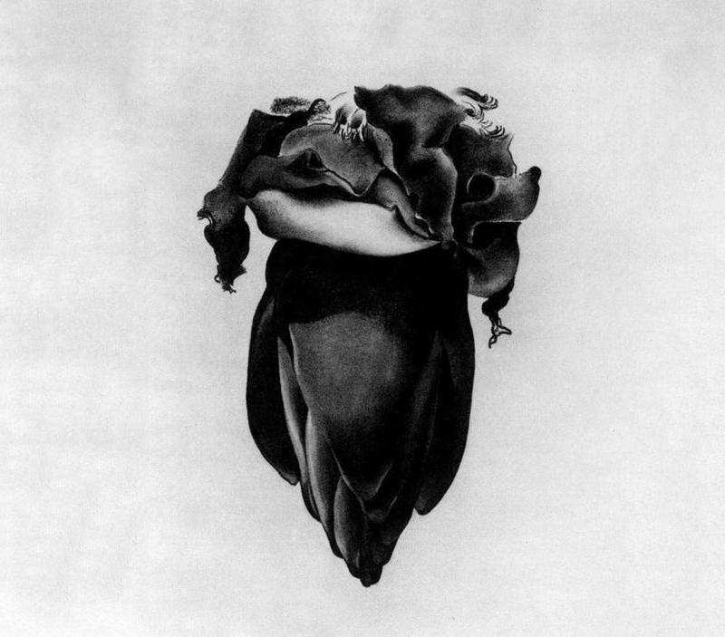 Georgia O'Keffee, « Banana Flower », 1933, image via Art Slack