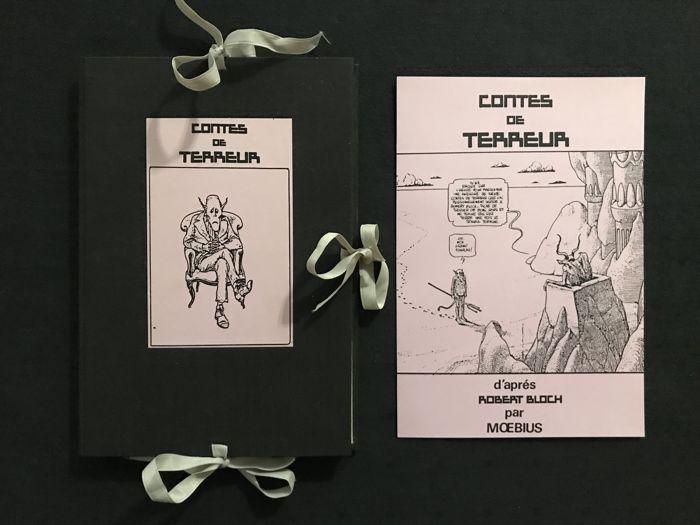 """Cómic """"Contes de Terreur"""". Moebius. Portfolio Opta. Primera edición"""
