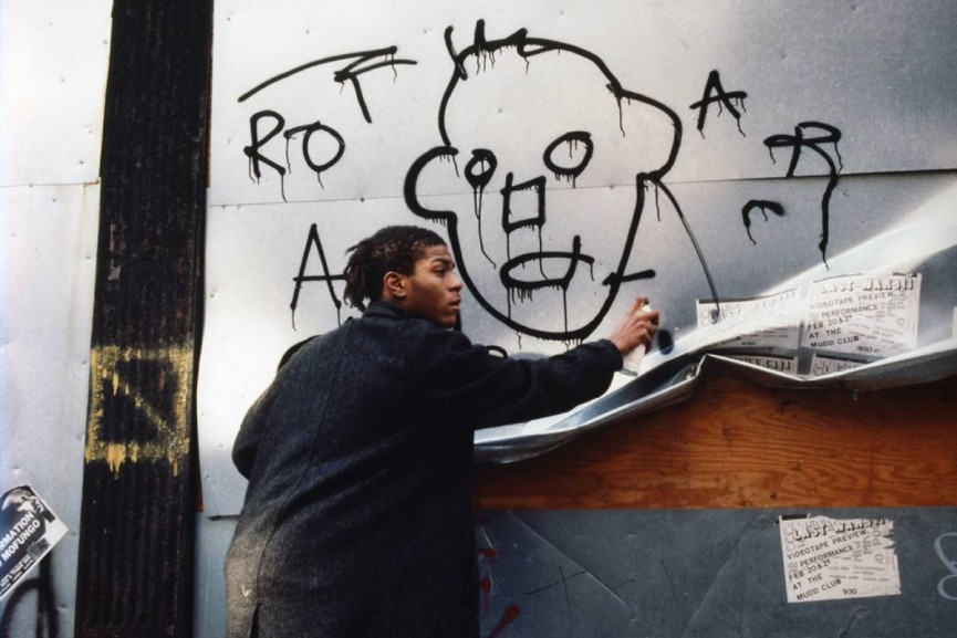 Jean-Michel Basquiat Image via Wide Walls