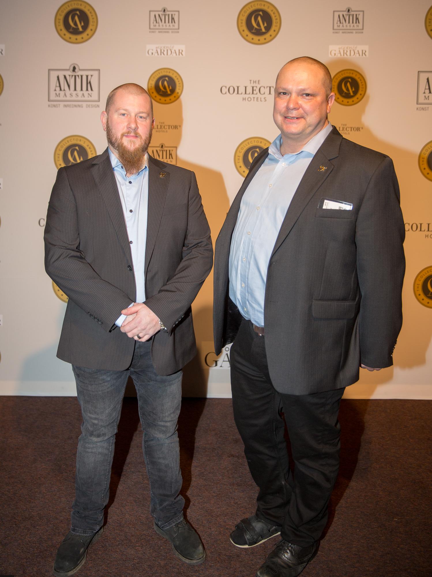 Jim Åkesson och Robert Dalin