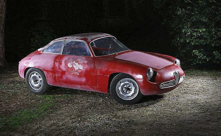 1961 Alfa Romeo Giulietta 1300 SZ