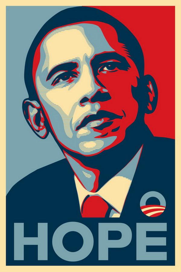 Shepard Faireys Obamaposter