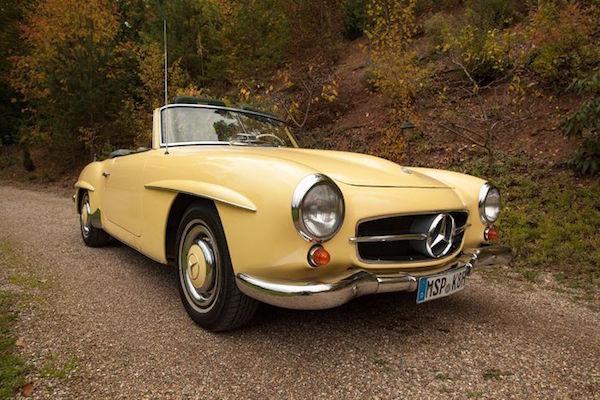 Mercedes Benz - 190 SL - 1959. Utropspris: 1 - 1,4 miljoner kronor.