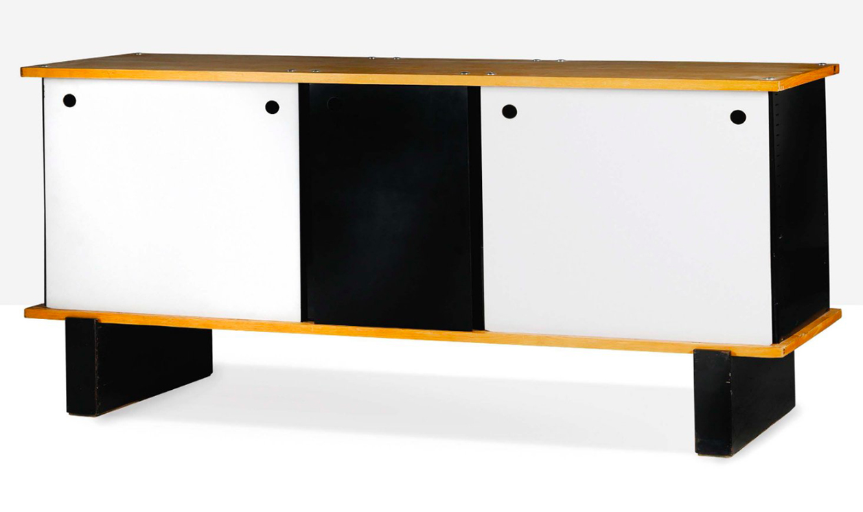Charlotte Perriand, 3-Door Sideboard, c. 1960. Photo: © Aguttes