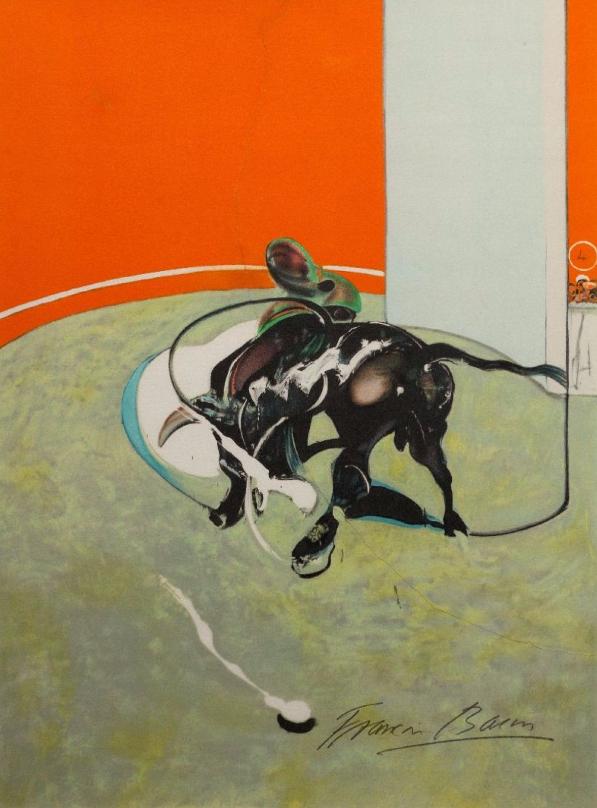 Study for bullfight N° 2, 1969 Morand