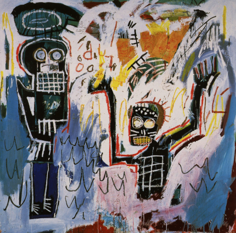 """Baptism"", 1980, Basquiat. Photo: Wikiart.org."