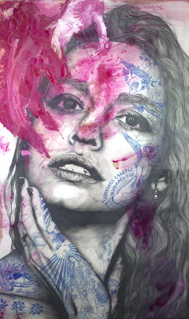 Retrospect Galleries, Gabriel Moreno, Dirty Pink Beauty, 110 x 192 cm, 50 000 SEK
