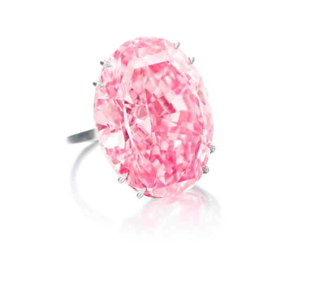 he Pink Star eller The Pink Dream. Bild Sotheby's
