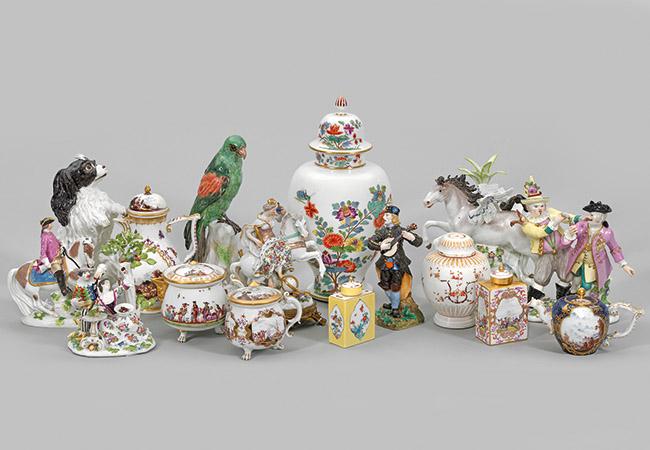 Porzellan des 18. Jahrhunderts