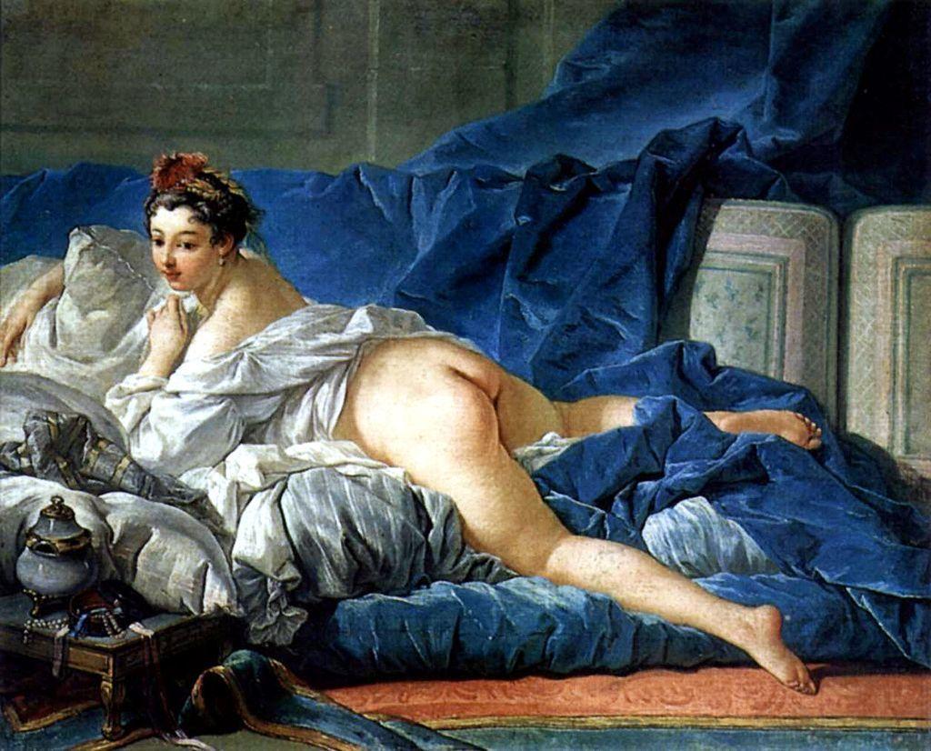 François Boucher - L'Odalisque (1745-49) Image: Paris, Musée du Louvre