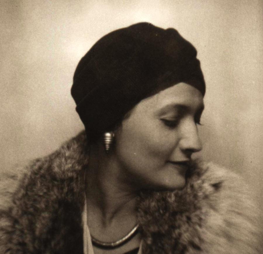 Suzanne Belperron (1900-1983) Photo provenant des archive d'Olivier Baroin