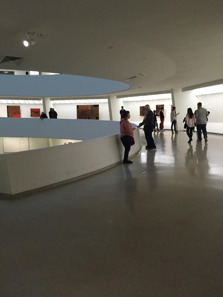 Guggenheim och det sluttande golvet.