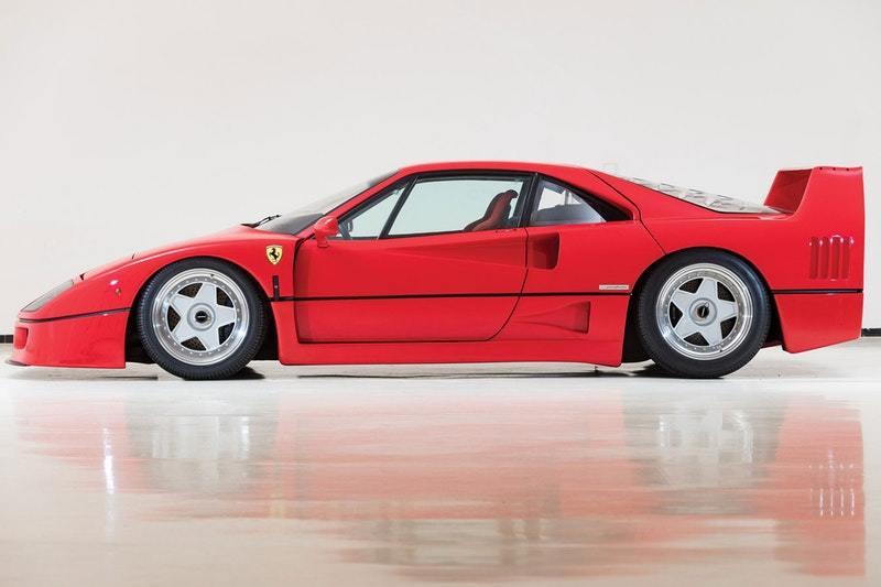 Ferrari F40, kaross av Pinin, image via Hypebeast