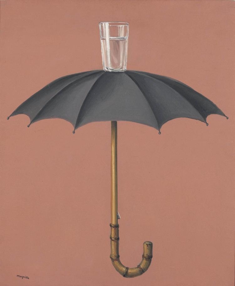 Golconda (1953) René Magritte Bild via christies.com