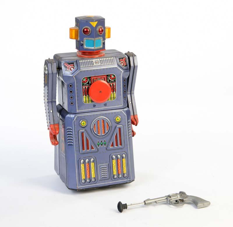MASUDAYA Target Robot, Blech, Japan