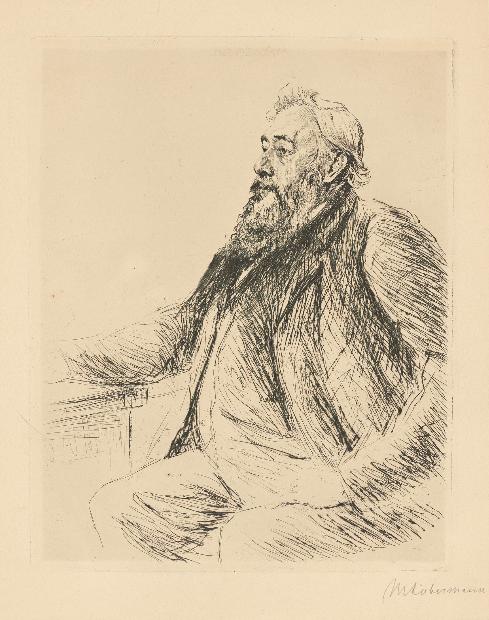 Max Liebermann, Porträt Brinckmann, 1906 En vente le 30 novembre chez Grisebach Estimation: EUR 400 - 600