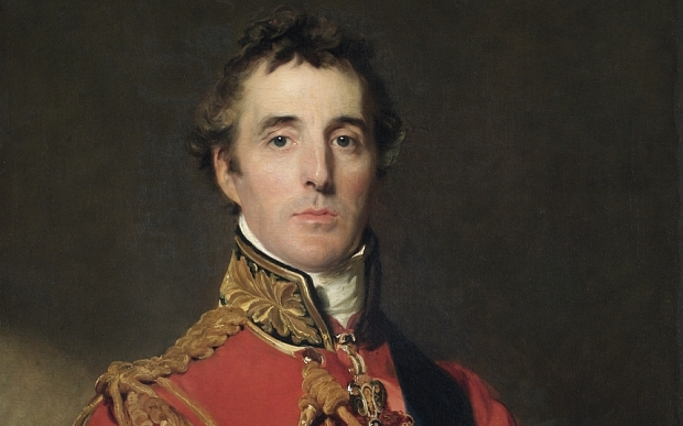 The Duke of Wellington painted by Sir Thomas Lawrence after the Battle of Waterloo. Image via the Telegraph/ NPG