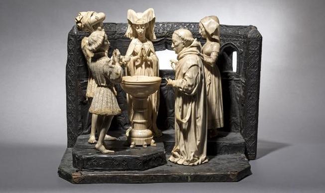 Ensemble sculptural - Charles II le Chauve