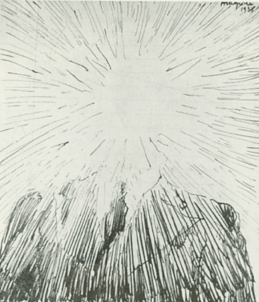 René Magritte, « Portrait manqué de Paul Éluard », 1936, image ©Sotheby's
