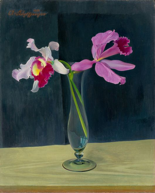 Adolf Köglsperger, Orchids, 1938
