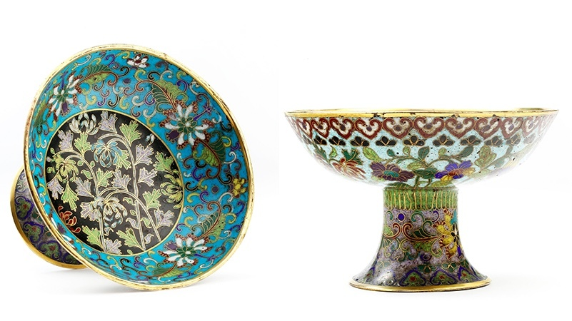Skålfat, Kina, Qianlong perioden (1736-1795).