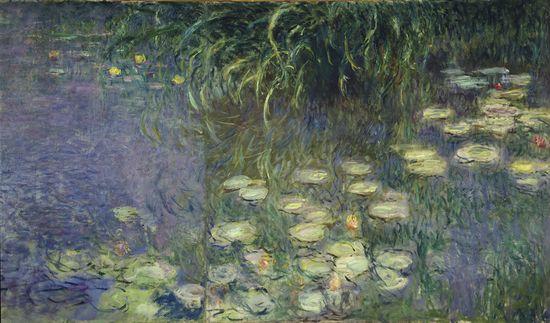 Les Nymphéas le matin Claude Monet Image via larousse.fr