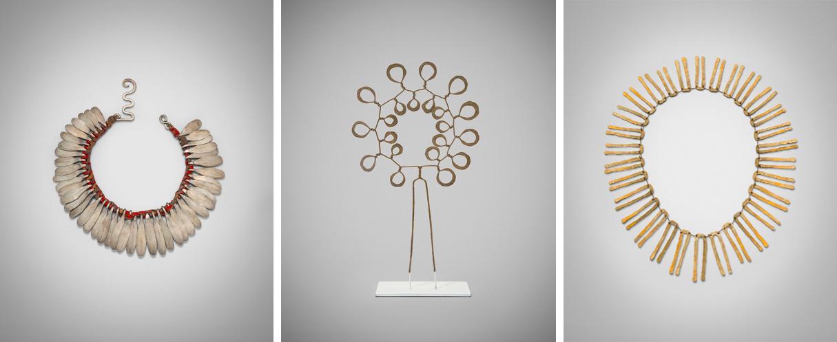 Colliers et pic à cheveu, ©Louisa Guinness Gallery & Calder Foundation