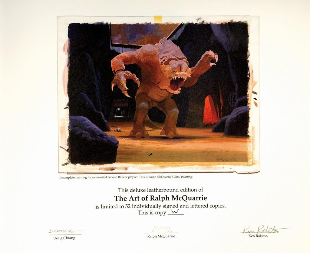 RALPH MCQUARRIE - The Art of Ralph McQuarrie, limited Edition von 52 monogrammierten Exemplaren Schätzpreis: 2.900-6.000 EUR