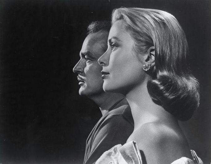 London - Prins Rainier en Prinses Grace van Monaco - 1956