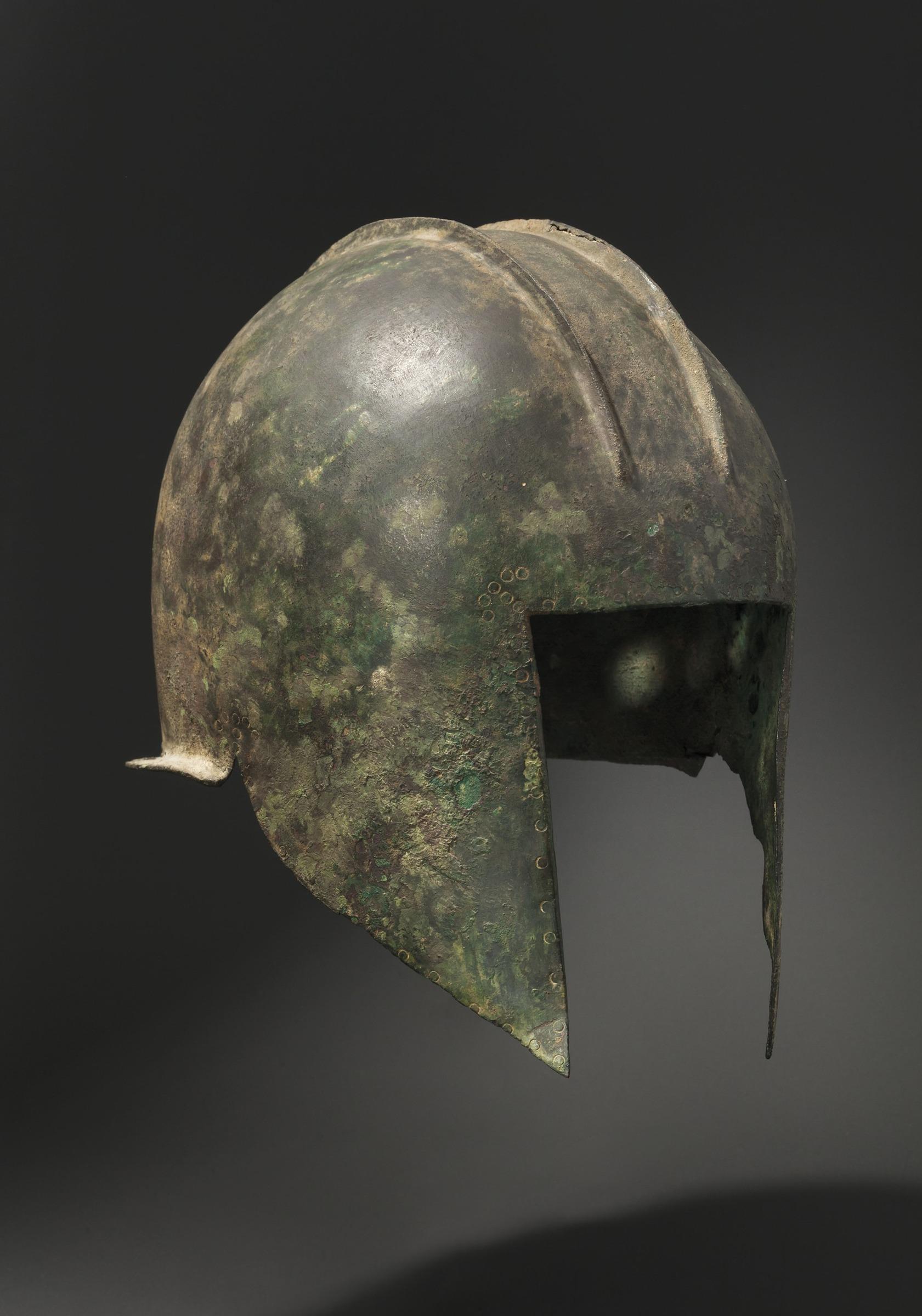 Illyrischer Helm mit Punzborte, nordgriechisch, 5. - frühes 4. Jh. v. Chr.