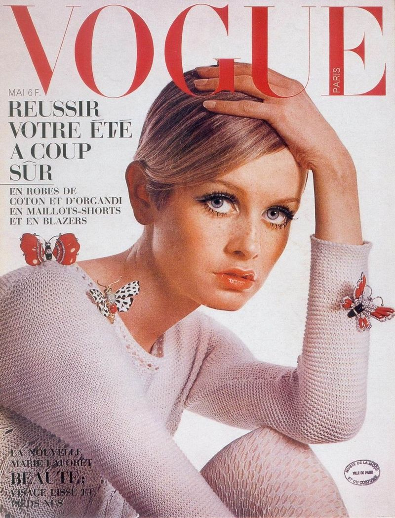 Vogue - Twiggy 1960s France