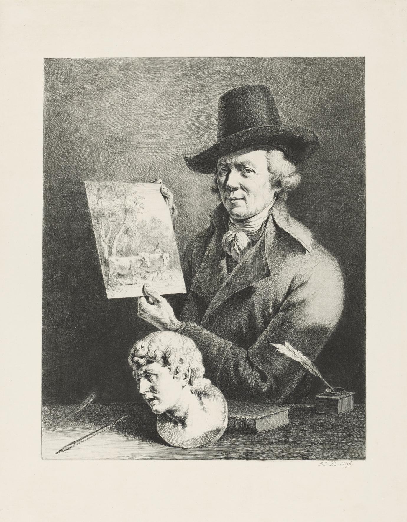 Selbst-Portrait Jean-Jacques de Boissieu. Foto: Städelmuseum