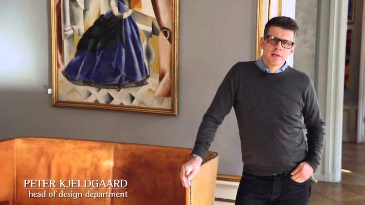 Peter Kjeldgaard dirige le département Design de la maison Bruun Rasmussen