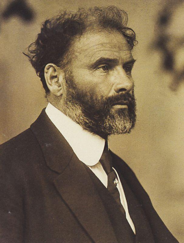 Gustav Klimt, 1905   Foto via Wikipedia