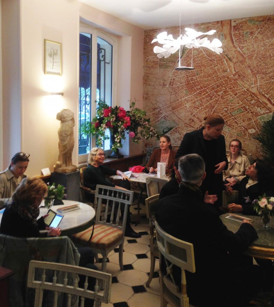 Le Cercle des Dianes a accueilli la conférence de presse du Carré Rive Gauche Image: Barnebys