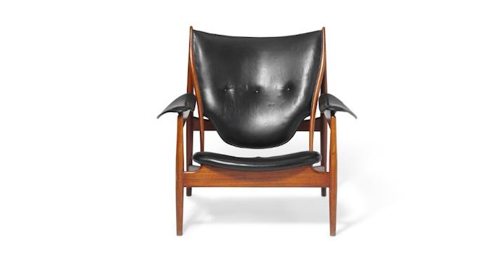 """Der """"Chieftain Chair"""" von Finn Juhu ist einer der begehrtesten und damit teuersten Stühle auf dem Auktionsmarkt"""